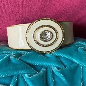 Lia Sophia Enamel Clamper Bracelet